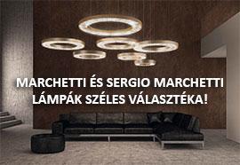 Marchetti és Sergio Marchetti lámpák széles választéka